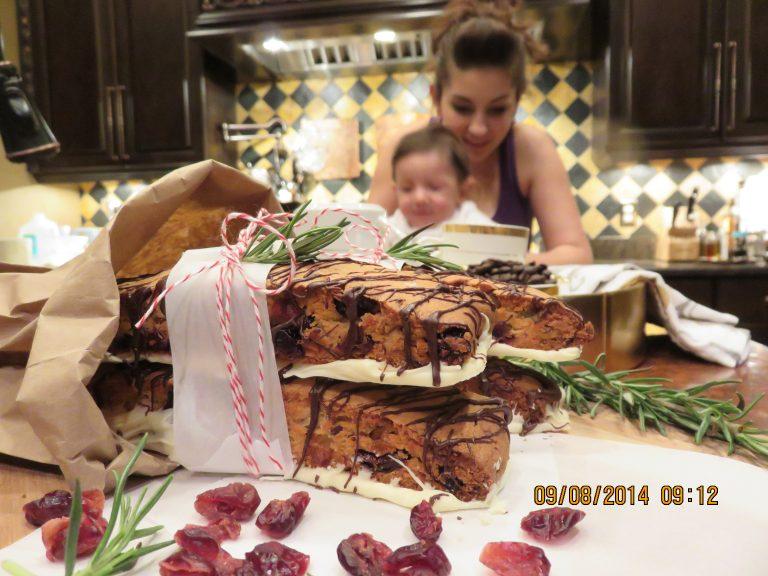holiday cranberry boscotti