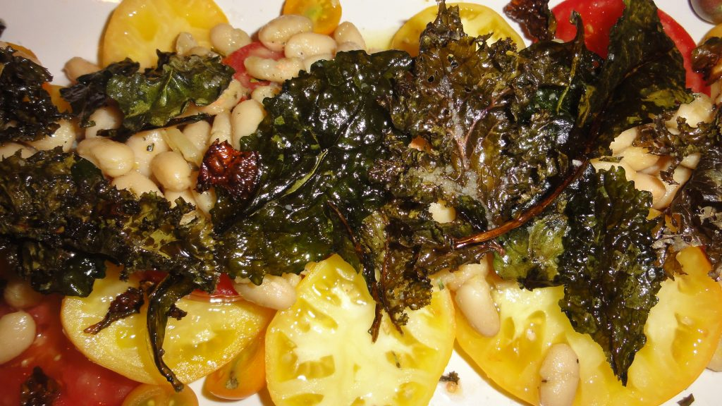 Heirloom Tomato, Rosemary Cannellini & Kale Salad