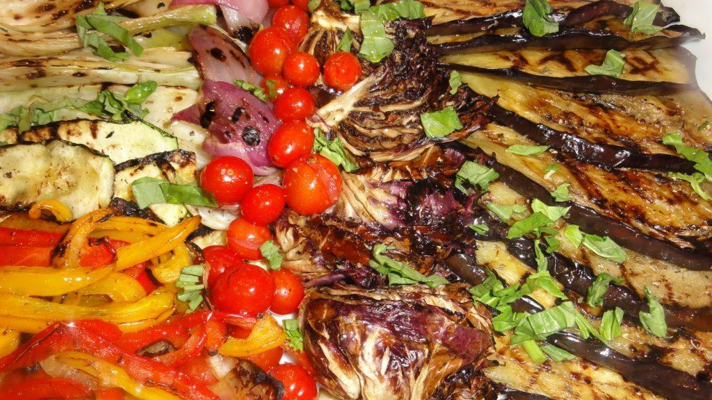 Mezze (Grilled Veggie Platter)